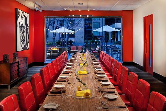 Dinner In D.C  Art and Soul Private Dining Room Picture of Art and Soul