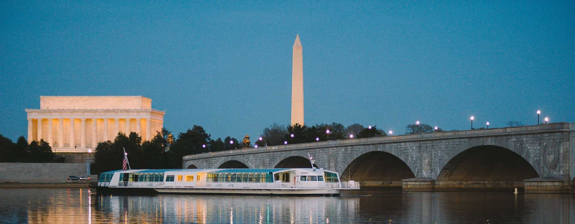 Dinner In D.C  Odyssey Washington DC Lunch Brunch and Dinner Cruises