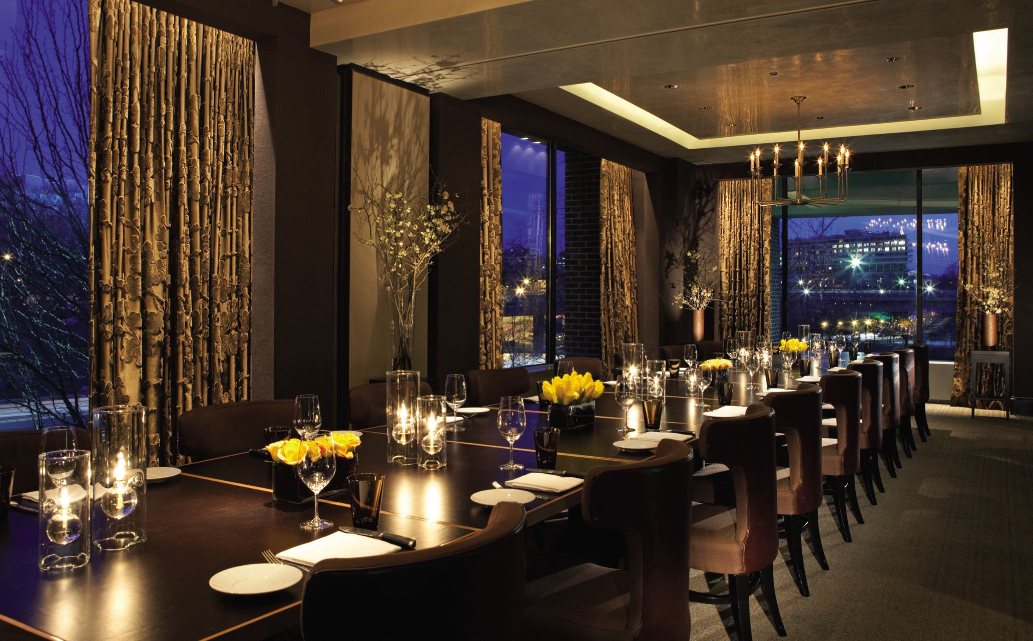 Dinner In D.C  Bourbon Steak private dining room at the Four Seasons