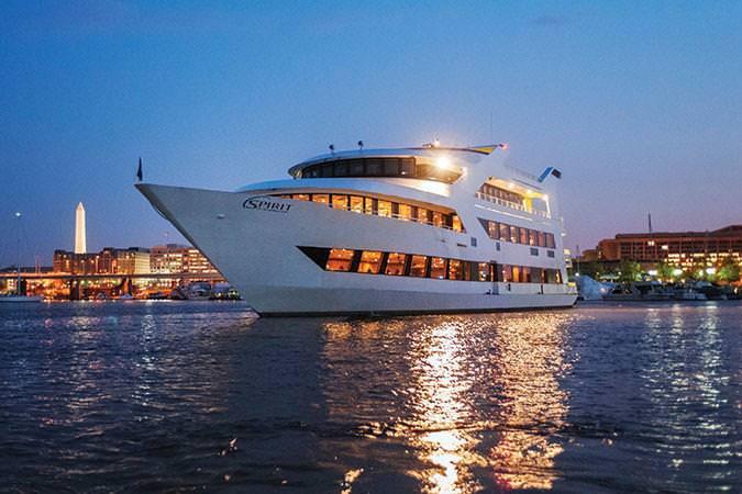 Dinner In D.C  Dinner Cruise Buffet Along the Potomac River Washington