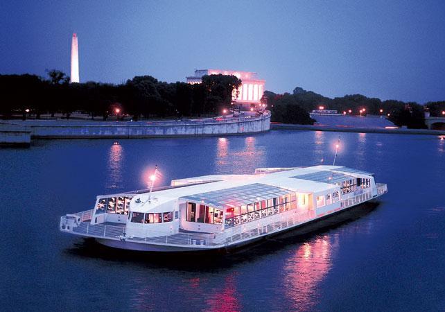 Dinner In D.C  Washington DC dinner cruise Washington DC romantic Ceetiz