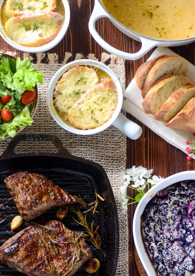 Dinner In French  Steak Chateaubriand 3 French Recipes In Under 90 Minutes