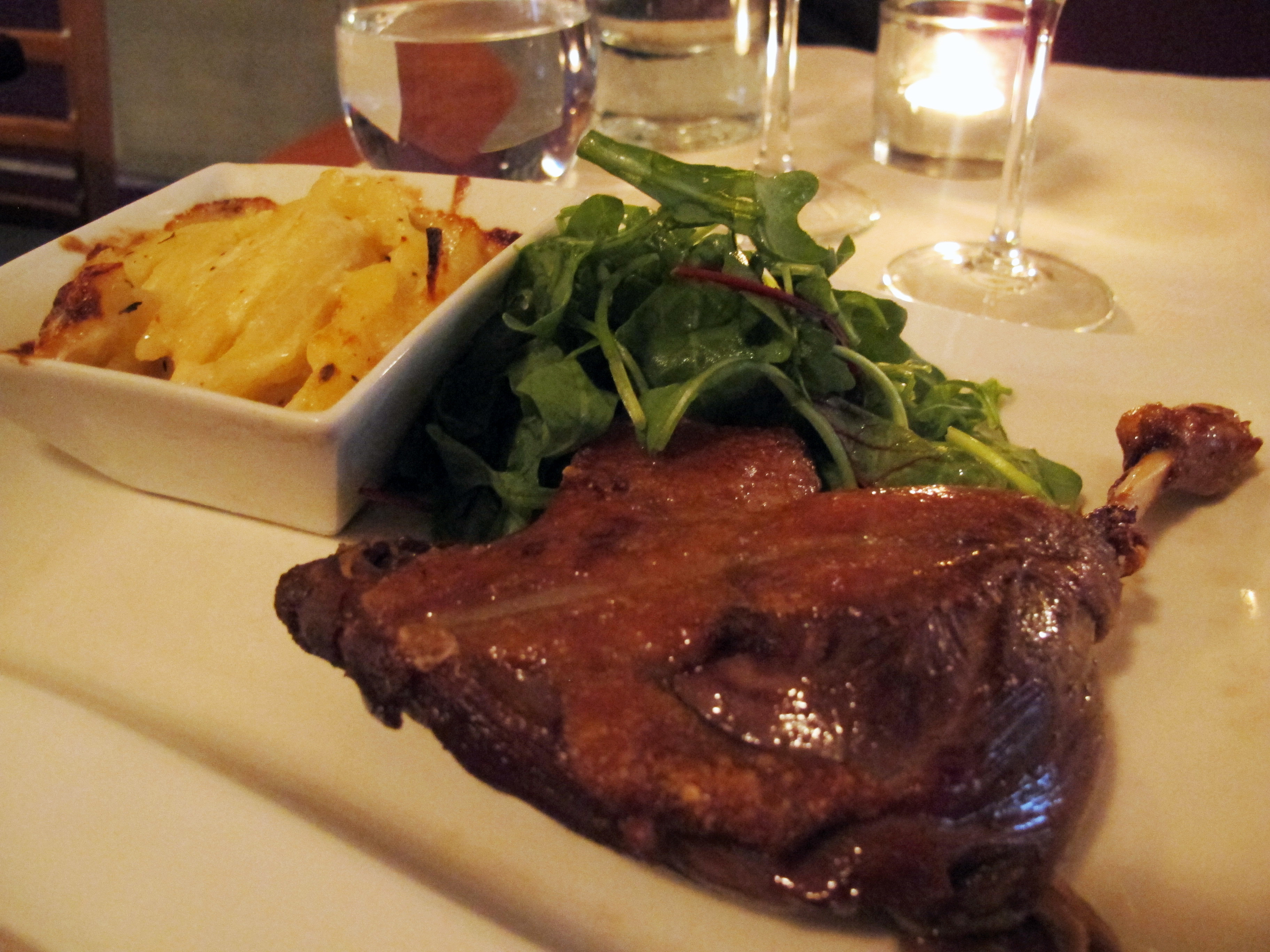 Dinner In French  An authentic French dinner My last meal in Paris