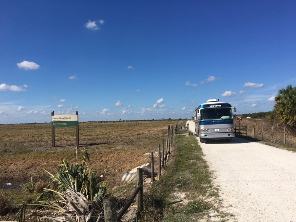 Dinner Island Ranch  Dinner Island Ranch WMA – Free Florida Boondocking