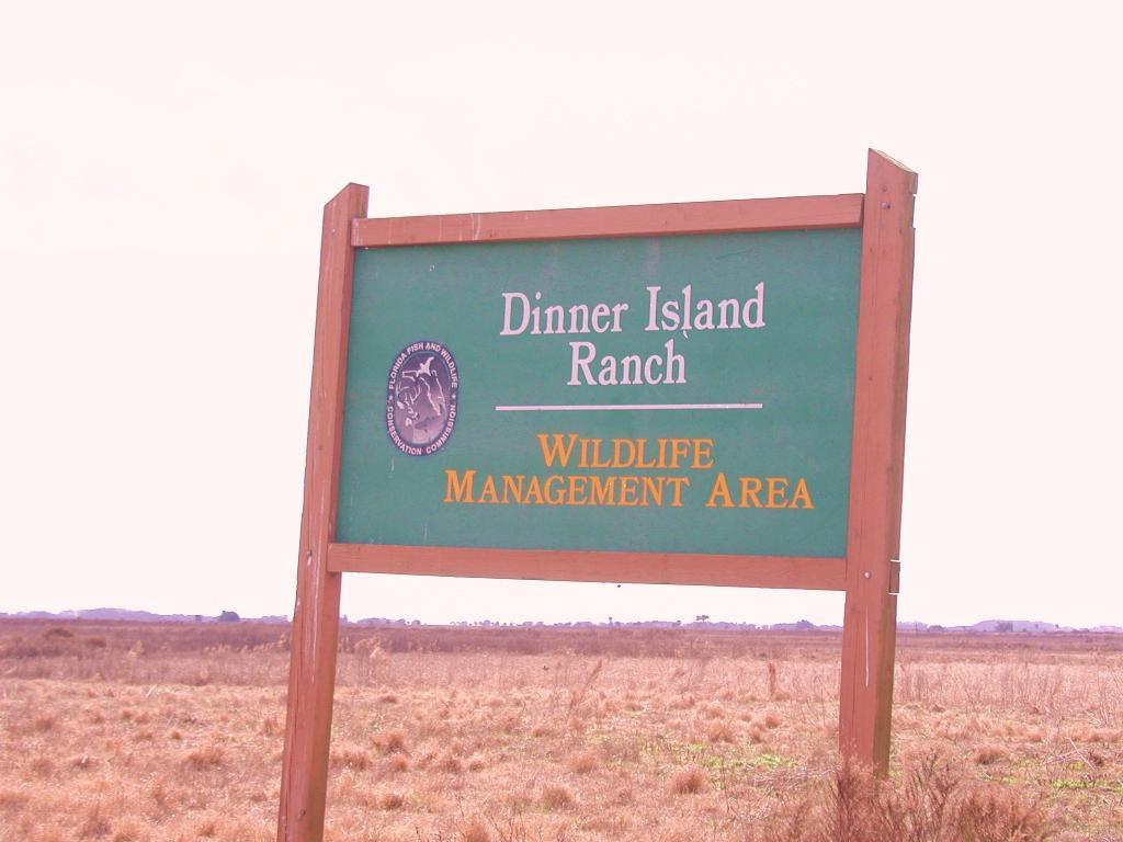Dinner Island Ranch  Dinner Island Ranch WMA