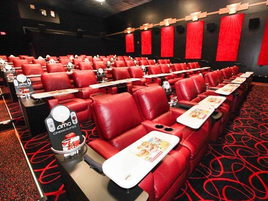 Dinner Movie Theater  Dinner and a movie at AMC Painter s Crossing