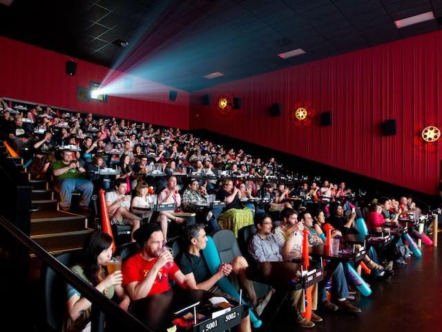 Dinner Movie Theater  America's Coolest Dine In Movie Theatres Food Republic