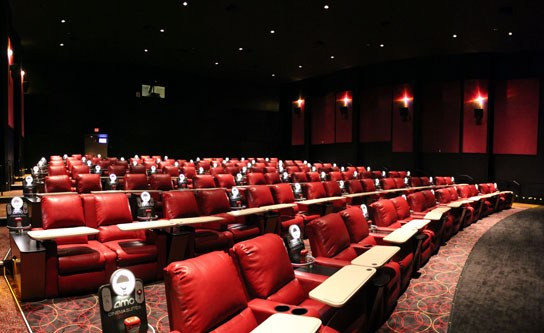 Dinner Movie Theater  AMC Dine In Theatres Marina Del Rey Dinner and a Movie