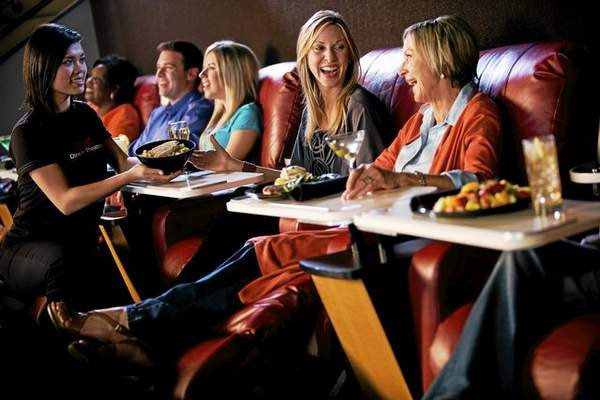 Dinner Movie Theater  Dinner & A Movie AMC Painter s Crossing 9 to Be e Dine
