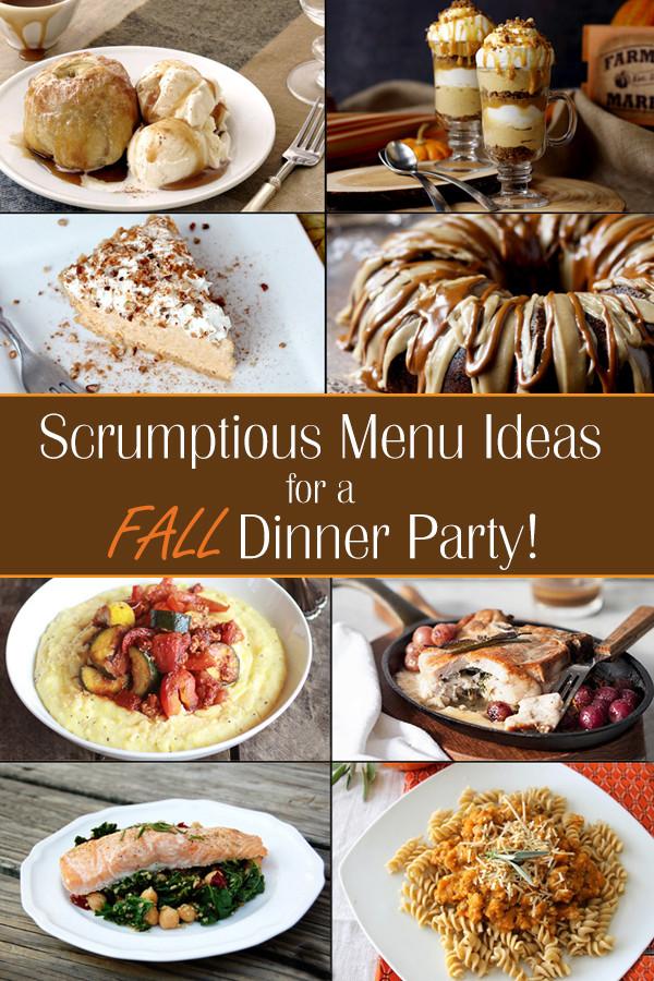 Dinner Party Menu Ideas  Fall Dinner Party Ideas