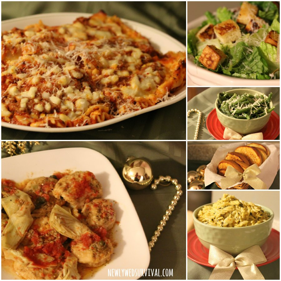 Dinner Party Menu Ideas  Easy Italian Dinner Party Menu Ideas featuring Michael
