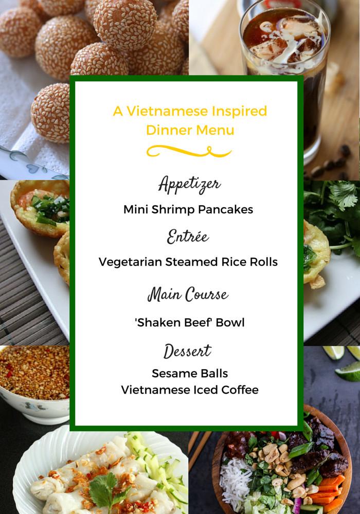 Dinner Party Menu Ideas  Vietnamese Dinner Party Menu