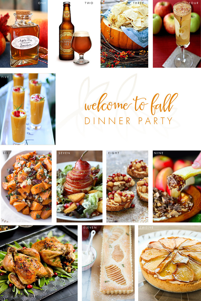Dinner Party Menu Ideas  Wel e to Fall Dinner Party The Perfect Menu