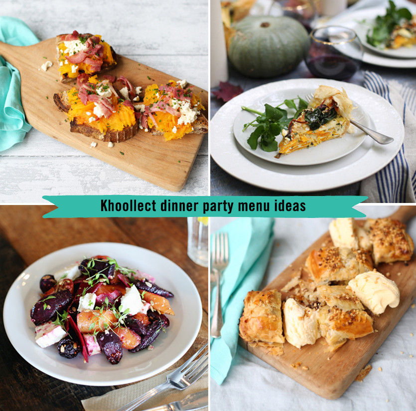 Dinner Party Menu Ideas  The Khoollect dinner party menu