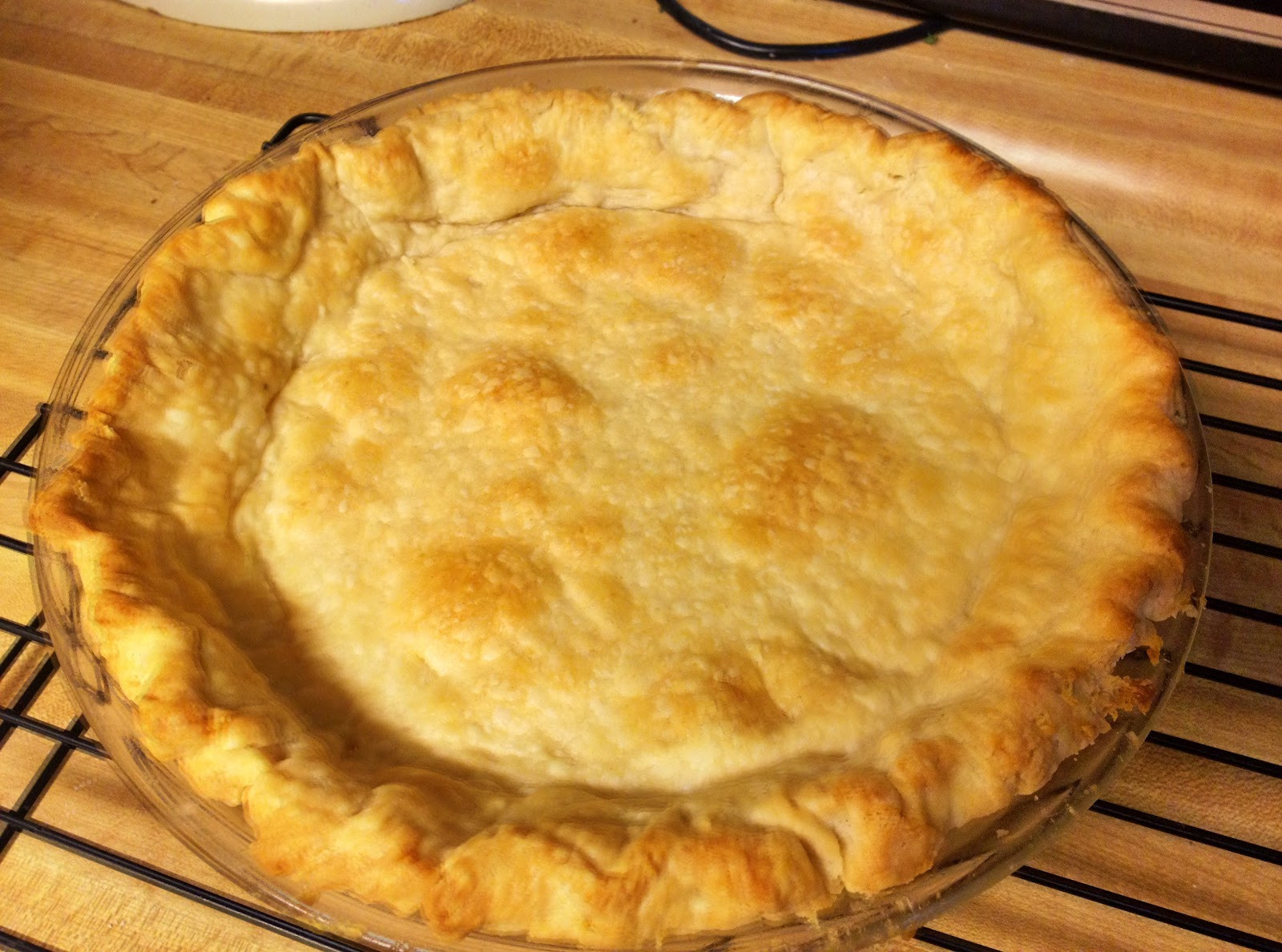 Dinner Recipes Using Pie Crust  Sunday dinner for two Recipe Single crust pie shell