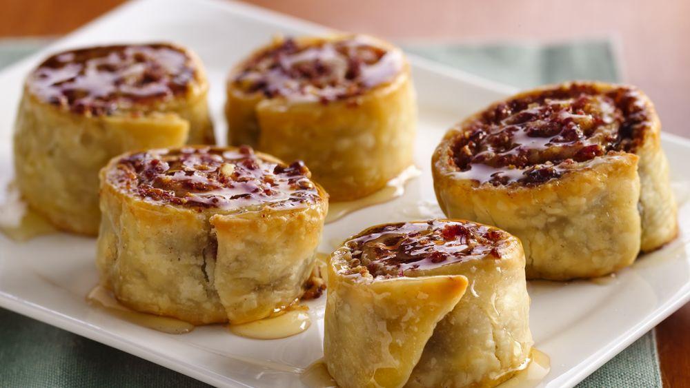 Dinner Recipes Using Pie Crust  Cranberry Orange Baklava Pinwheels Recipe Pillsbury