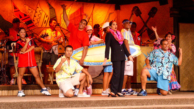 Dinner Shows In Orlando  Disney Dinner Show Spirit of Aloha Show AlCapones