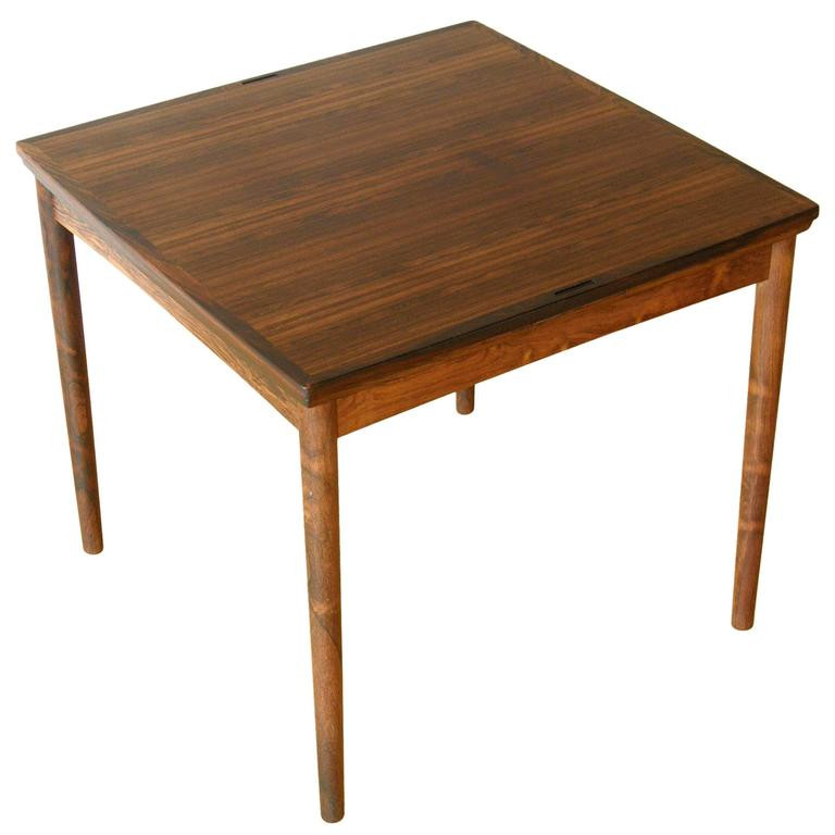 Dinner Table Game  Poul Hundevad Dining Game Table at 1stdibs