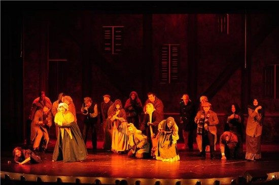 Dinner Theater Maryland  Theatre Review 'Les Miserables' at Riverside Center