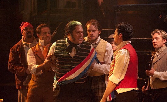Dinner Theater Maryland  Theatre Review 'Les Misérables' at Toby's Dinner Theatre