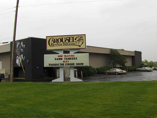 Dinner Theater Ohio  Pic of the Day Carousel Dinner Theatre Sold