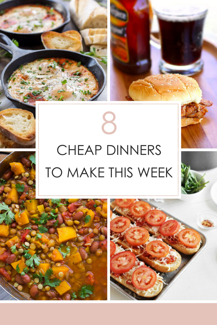 Dinner This Week  8 Cheap Dinners to Make This Week Frugal Fanatic