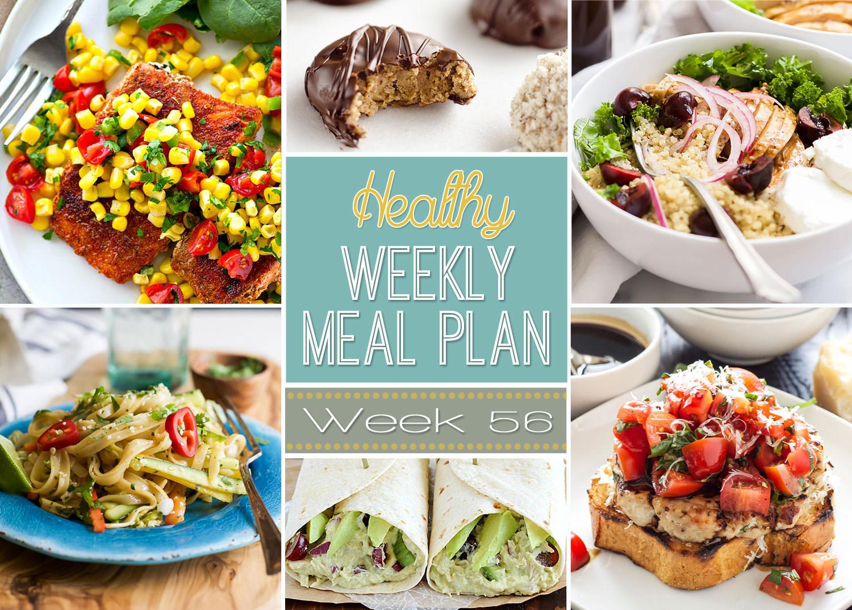 Dinner This Week  Healthy Weekly Meal Plan