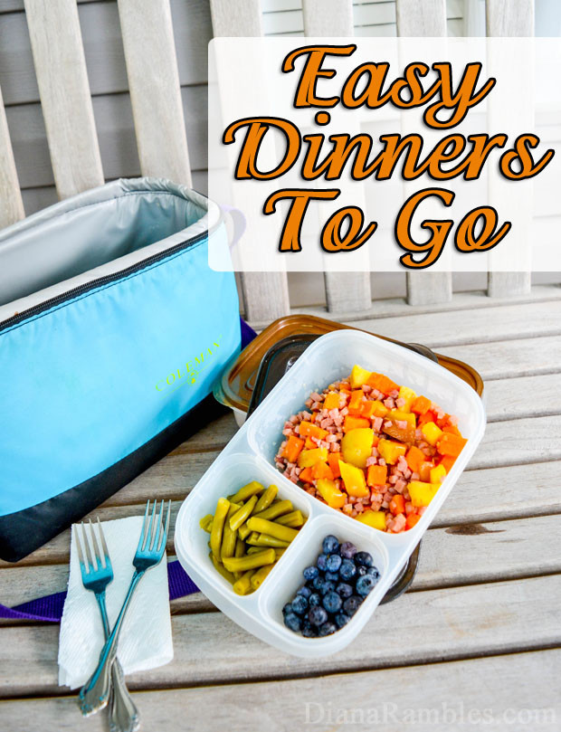 Dinner To Go  Easy Prepared Meals to Go for Busy Moms and Kids