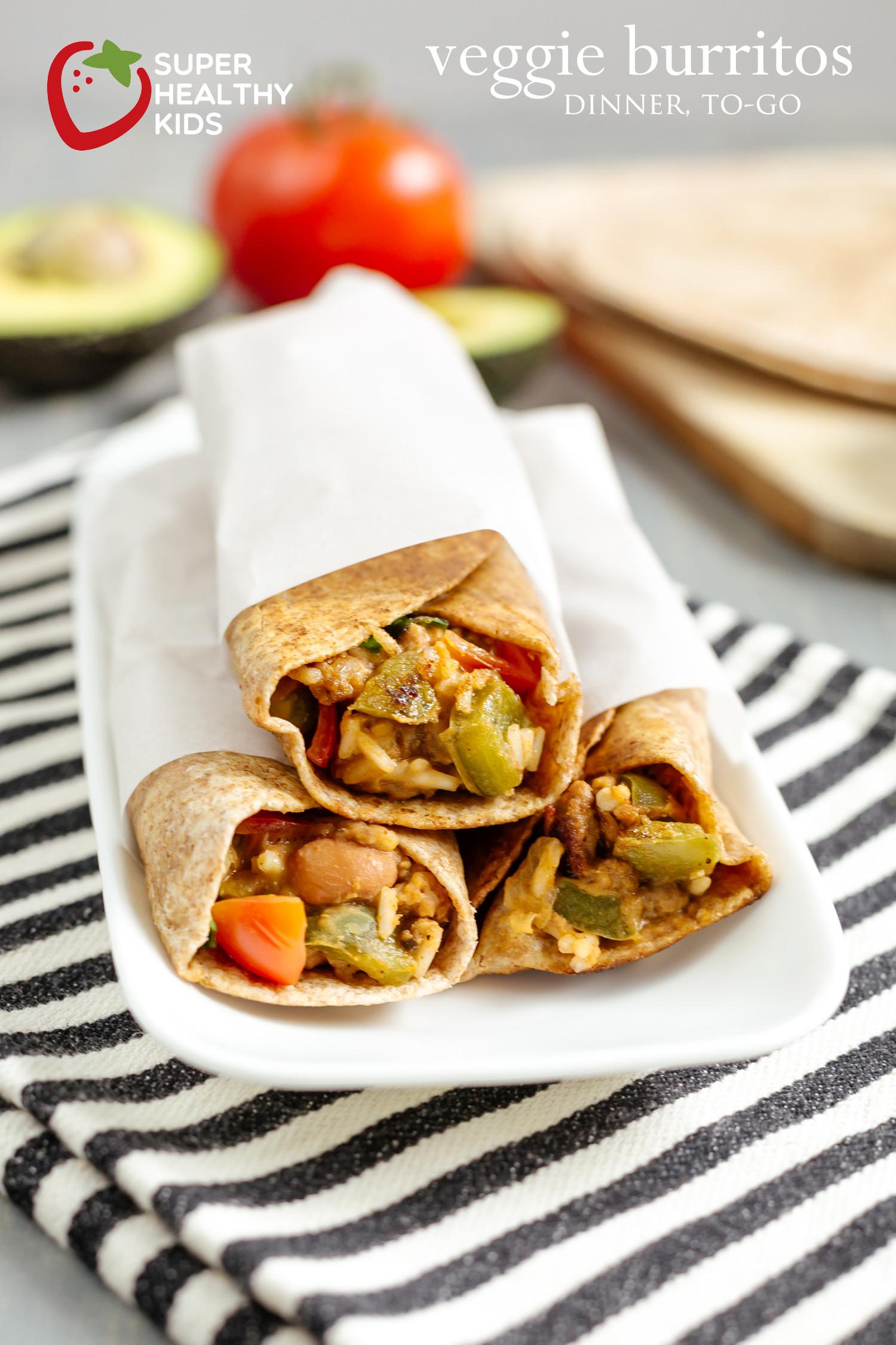 Dinner To Go  Veggie Burritos Dinner To Go