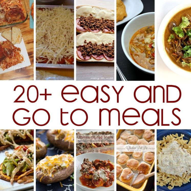 Dinner To Go  20 Go To Meals Recipes and Block Party Rae Gun Ramblings