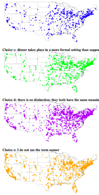 "Dinner Vs Supper  word choice ""Lunch"" vs ""dinner"" vs ""supper"" — times"