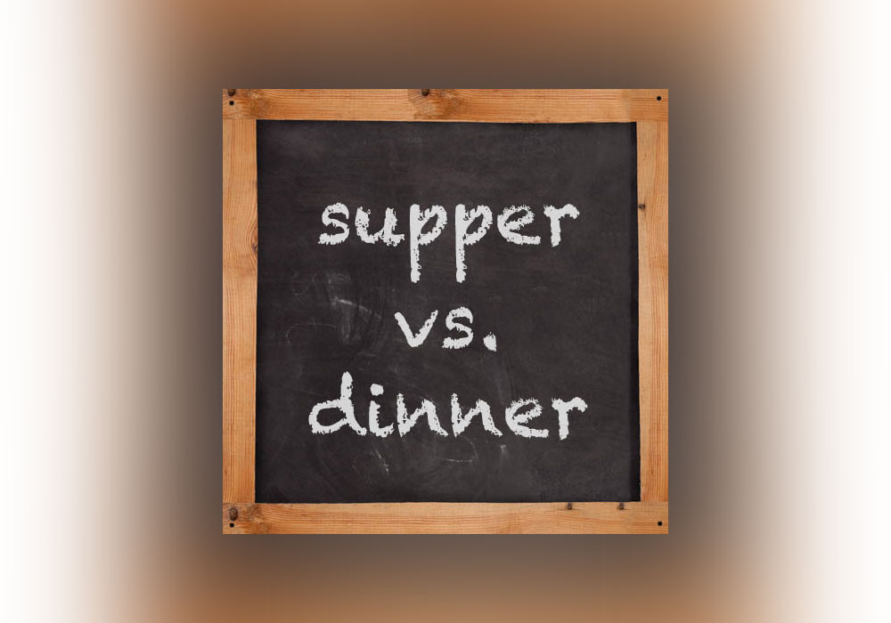 Dinner Vs Supper  Supper vs Dinner Everything After Z by Dictionary