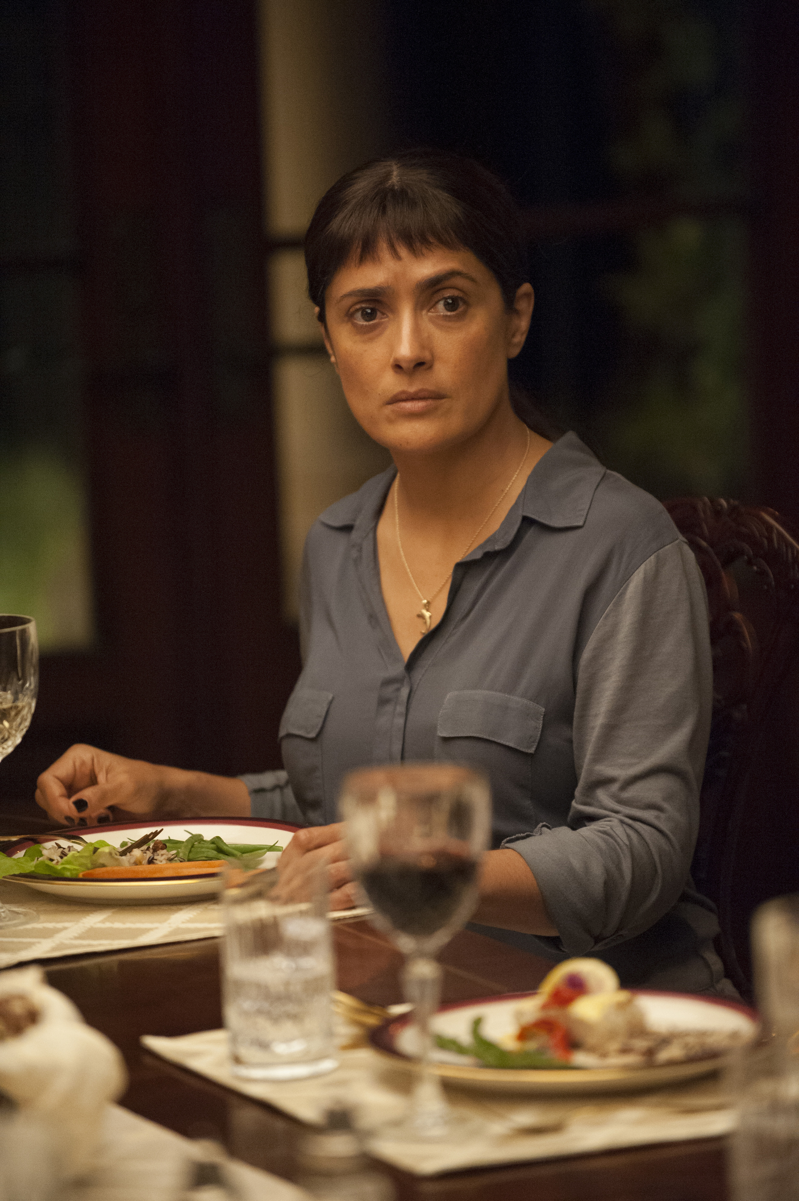 Dinner With Beatriz  Salma Hayek on the Trump Clairvoyance of Beatriz at