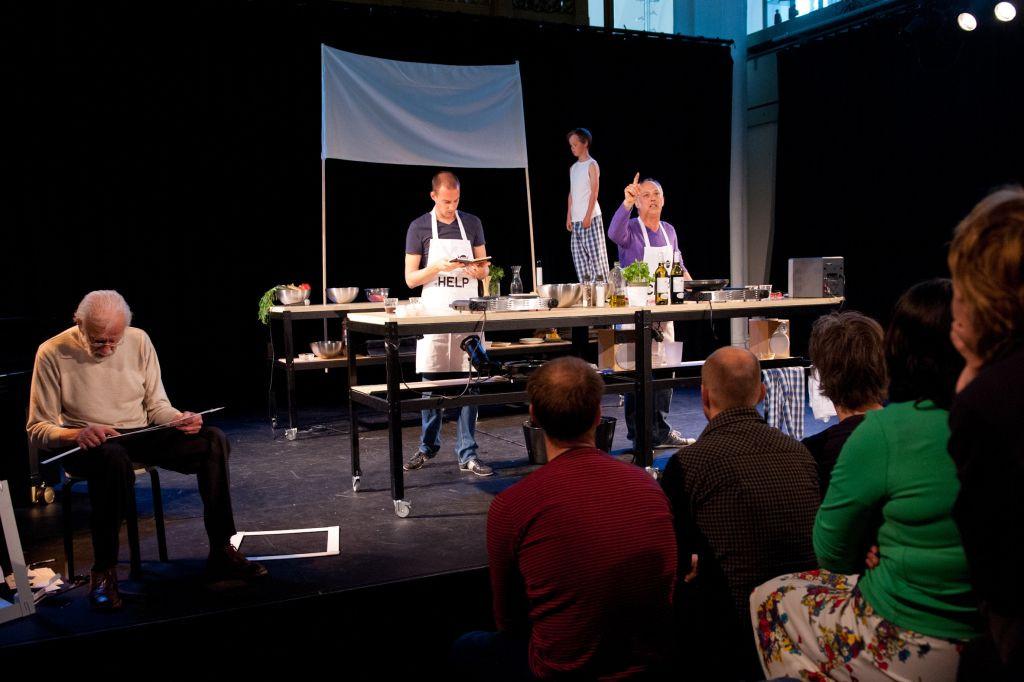 Dinner With Dad  Dinner with Dad door Lucas de Man Stichting Nieuwe Helden