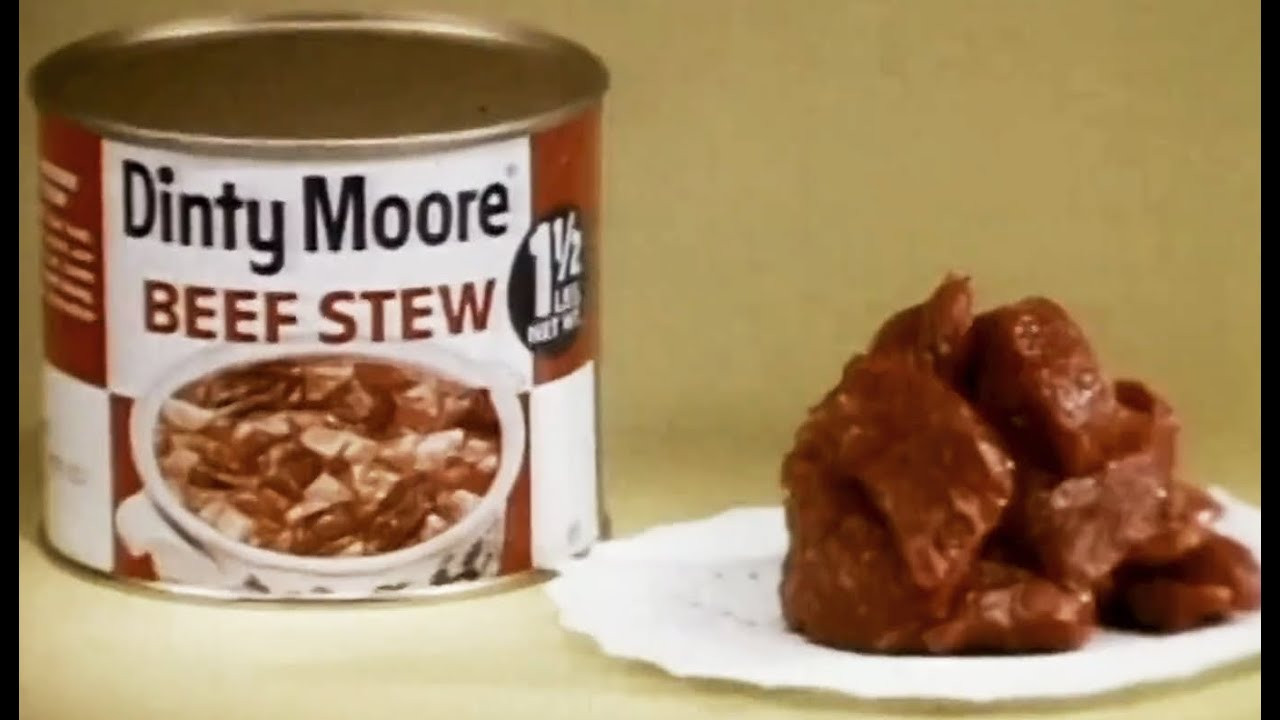 """Dinty Moore Beef Stew Recipe  Hormel Chili Spam & Dinty Moore Beef Stew """"This Is"""