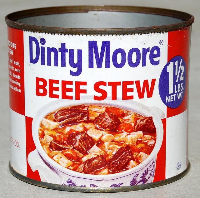Dinty Moore Beef Stew Recipe  Dinty Moore Beef Stew 1960 s