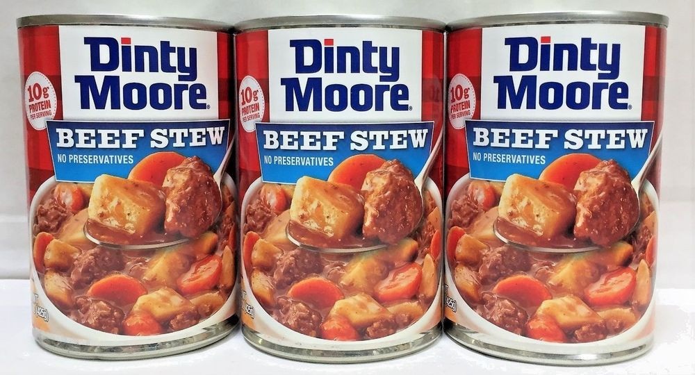Dinty Moore Beef Stew Recipe  Hormel Dinty Beef Stew 15 oz 3 Cans