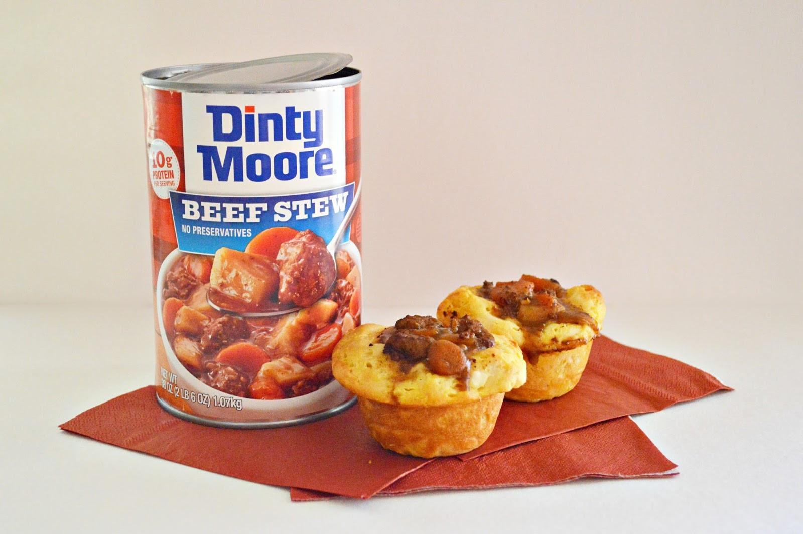 Dinty Moore Beef Stew Recipe  Dinty Moore beef stew Shepard s Pie Bites Alyssa