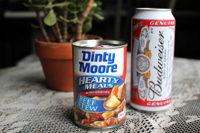 Dinty Moore Beef Stew Recipe  Be Like Don Draper Dinty Moore and a Budweiser