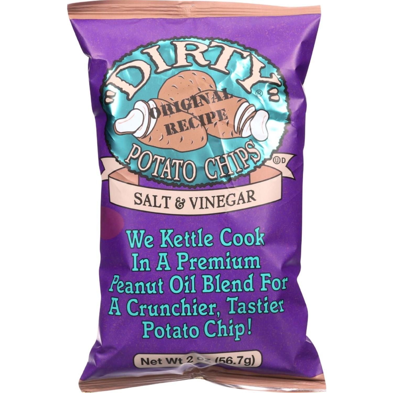 Dirty Potato Chips  Dirty Chips Potato Chips Salt And Vinegar 2 Oz