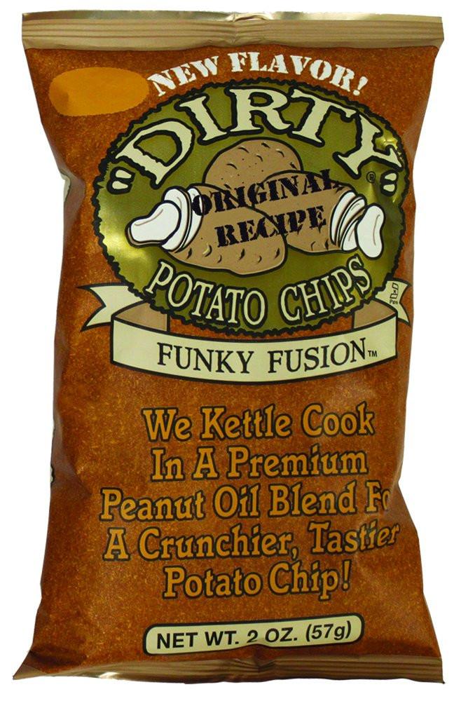 Dirty Potato Chips  Amazon Dirty Chips Funky Fusion Potato Chips 2 oz