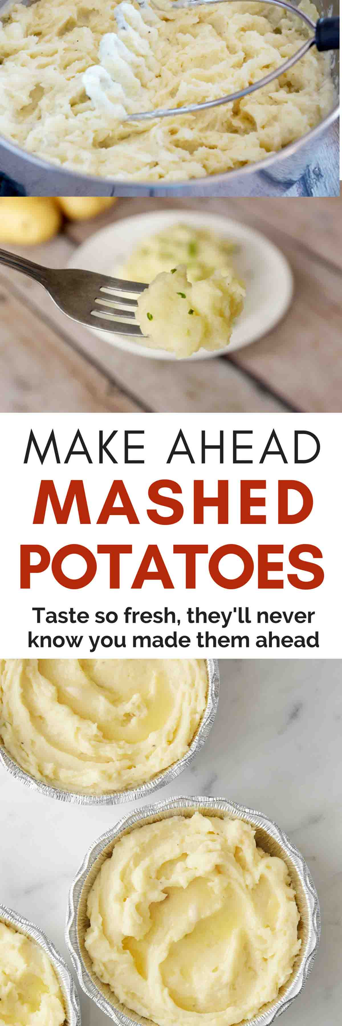 Do Ahead Mashed Potatoes  Make Ahead Mashed Potatoes That Actually Taste Freshly Made