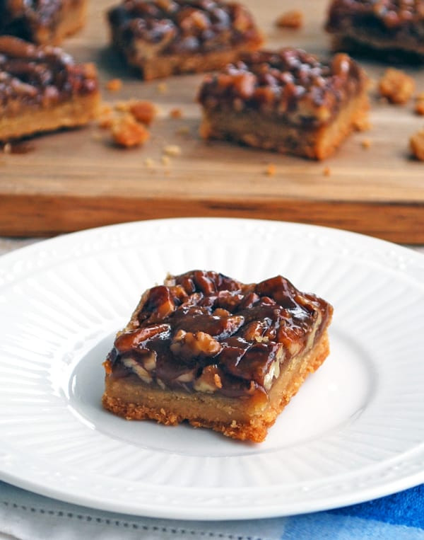 Does Pecan Pie Need To Be Refrigerated  Pecan Pie Bars The Live In Kitchen