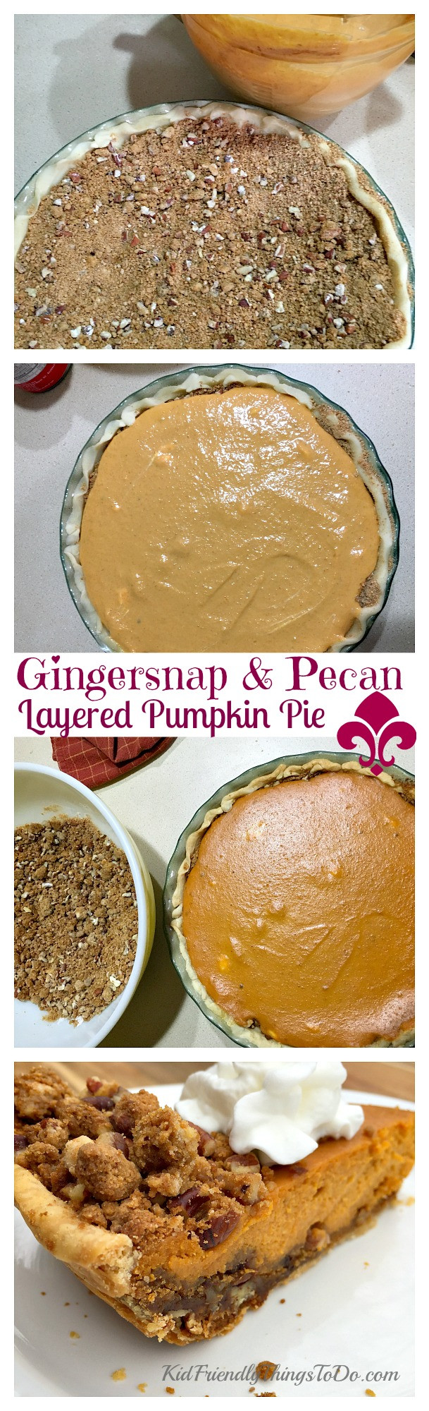 Does Pumpkin Pie Have To Be Refrigerated  Gingersnap and Pecan Layered Pumpkin Pie Recipe