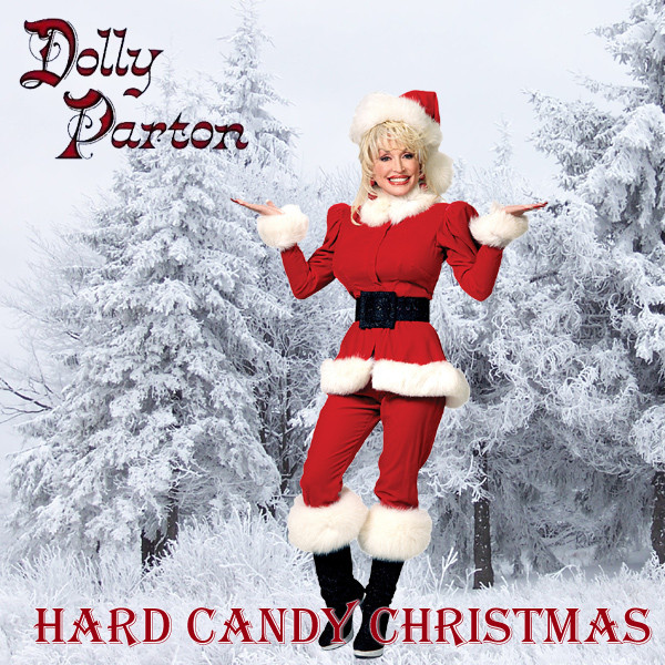 Dolly Parton Hard Candy Christmas  AllBum Art Alternative Art Work for Album and Single Covers