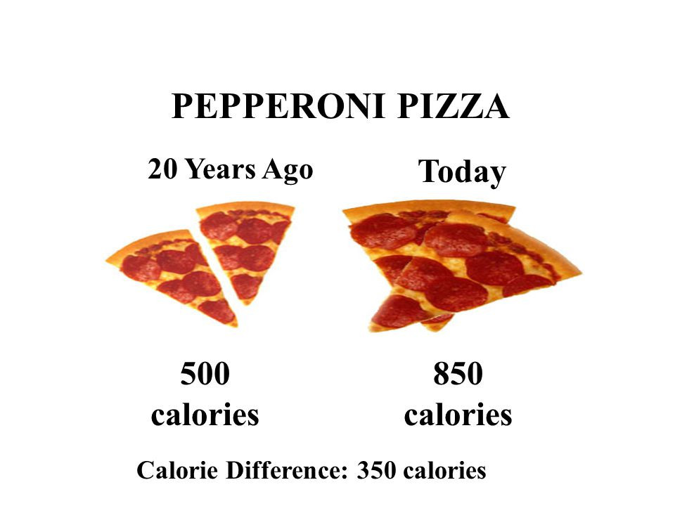 Domino'S Pepperoni Pizza Calories  Nutrition ppt video online