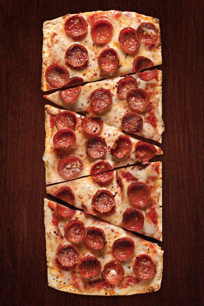 Domino'S Pepperoni Pizza Calories  Thin Crust Pepperoni Pizza Flatoutbread