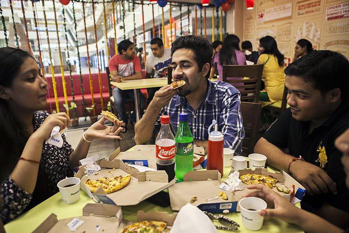 Domino'S Veggie Pizza  Pizza giant will go all ve arian for Hindu festival of
