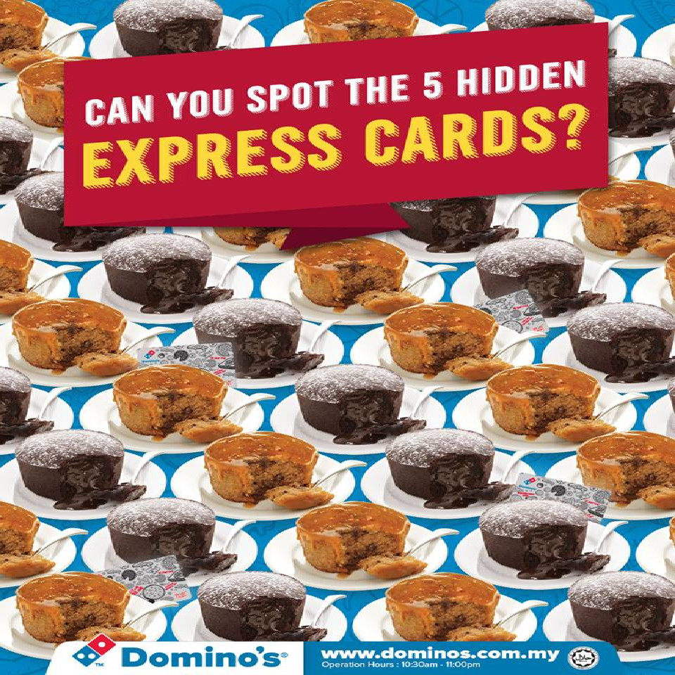 Dominos Dessert Coupons  Malaysia Domino s Pizza Chocolate Lava Cake or a Caramel