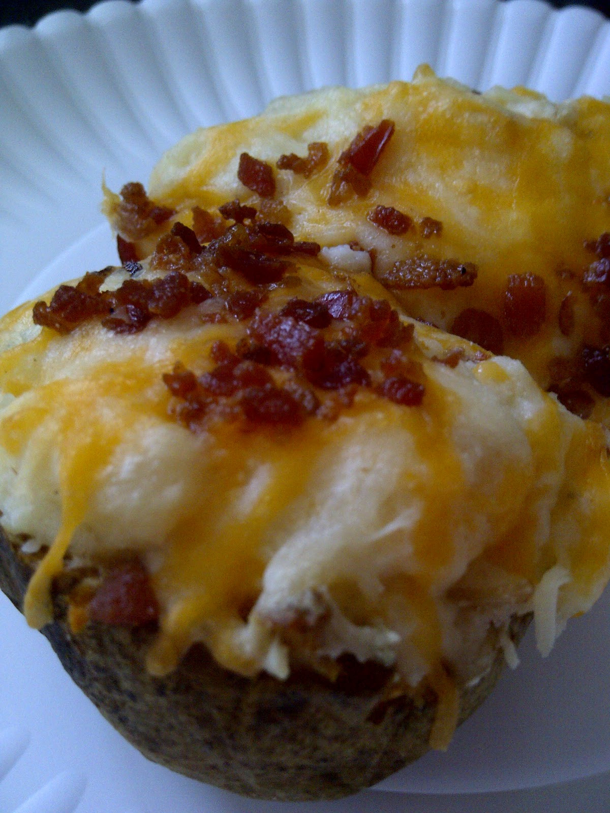 Double Baked Potato  USASillyYaks Twice Baked Potatoes